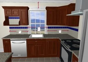 R nover sa cuisine en quelques tapes for Dimension hotte cuisine
