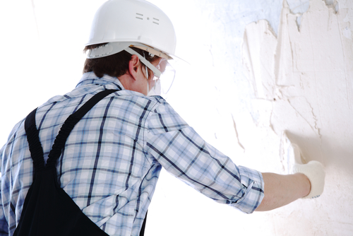Métier de la construction - Plâtrier