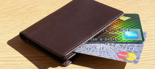 carte de crédit dans un portefeuille