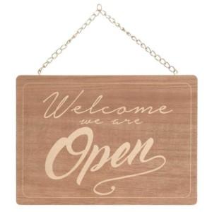 plaque open closed